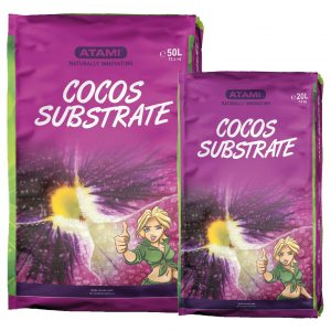 Cocos Subtrate 50 L. Washed Steamed Aged Buffered +NPK